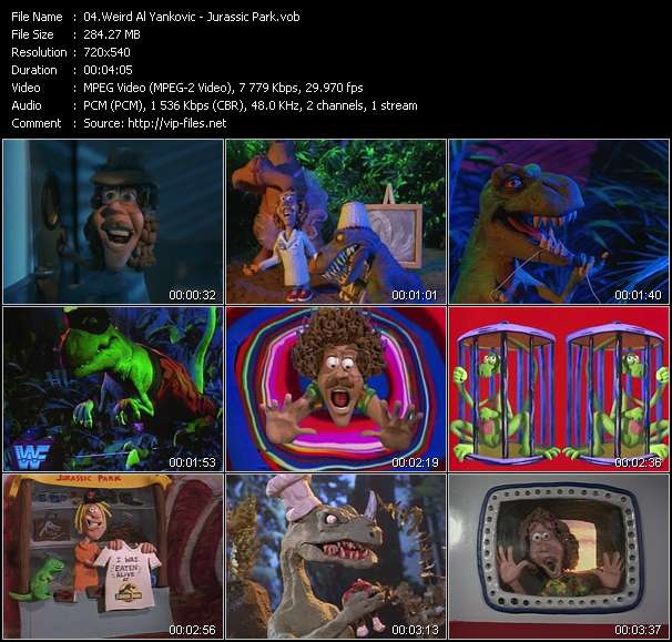 Weird Al Yankovic - Jurassic Park