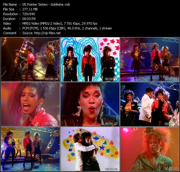 Pointer Sisters Goldmine