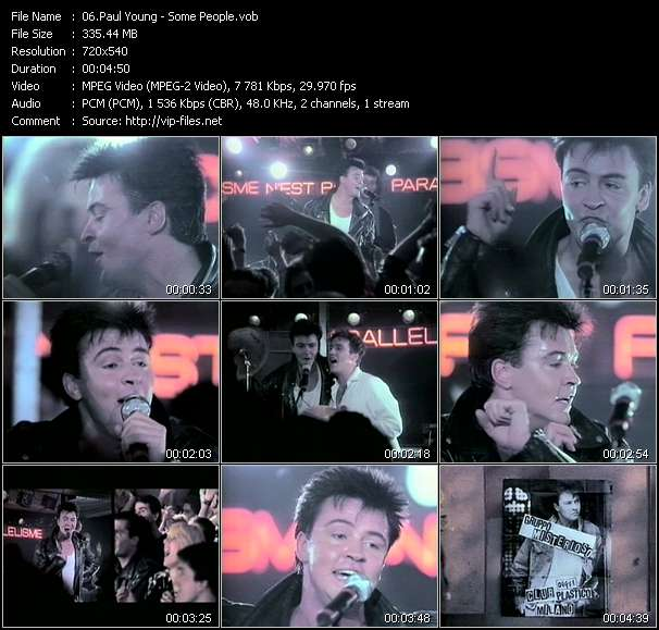 Paul Young Some People