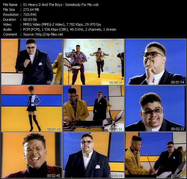 Heavy D And The Boyz - Somebody For Me