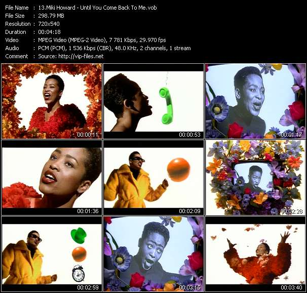 Miki Howard - Until You Come Back To Me