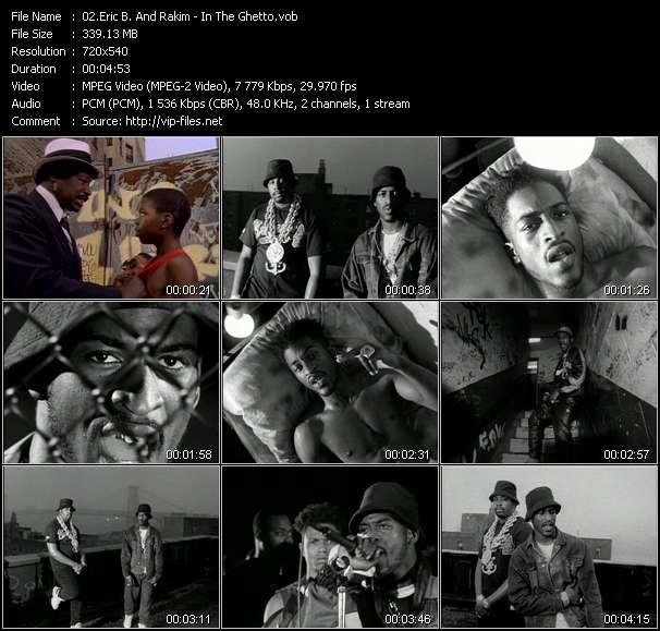 Eric B. And Rakim - In The Ghetto