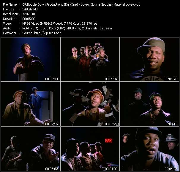Boogie Down Productions (Krs-One) - Love's Gonna Get'cha (Material Love)