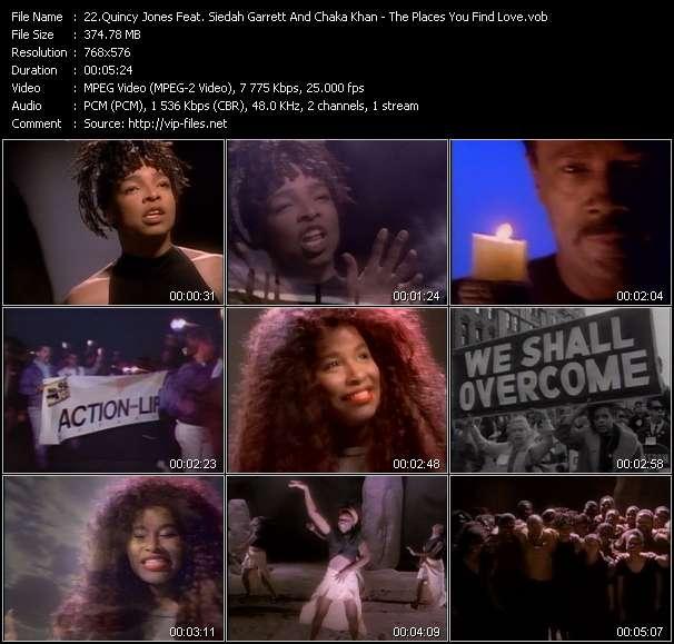 Quincy Jones Feat. Siedah Garrett And Chaka Khan - The Places You Find Love