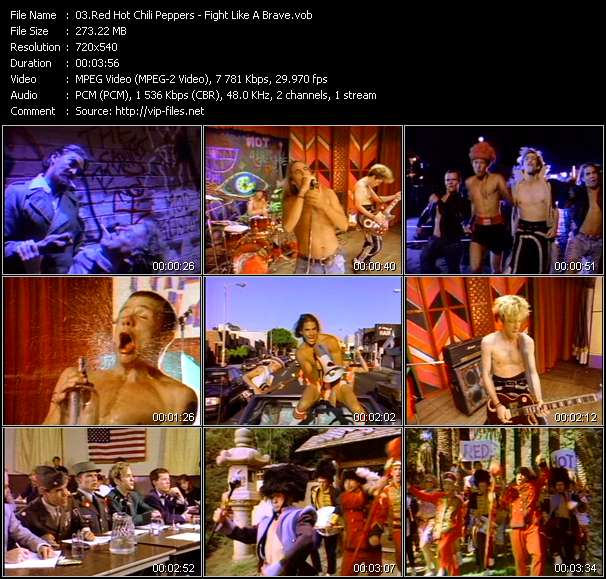 Red Hot Chili Peppers - Fight Like A Brave