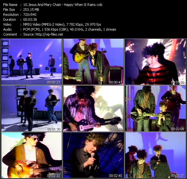 Jesus And Mary Chain - Happy When It Rains