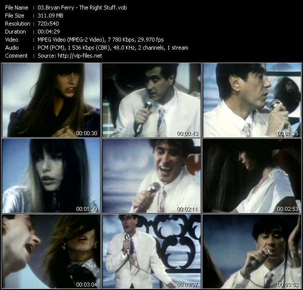 Bryan Ferry - The Right Stuff