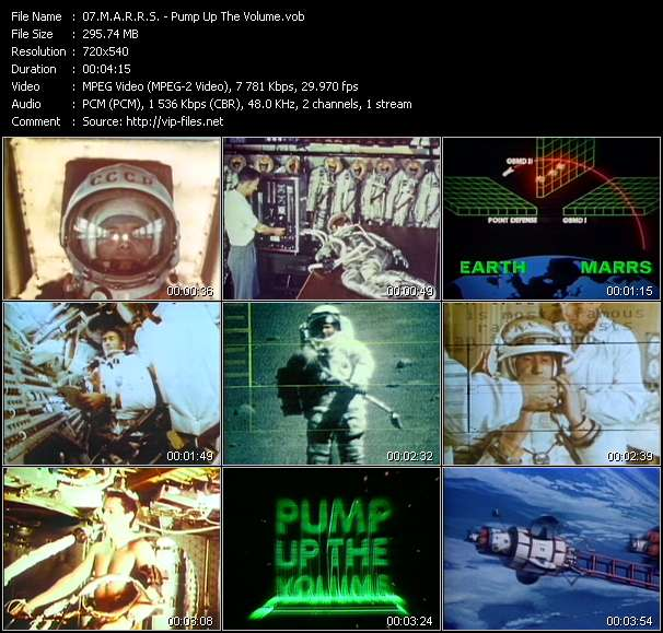 M.A.R.R.S. - Pump Up The Volume