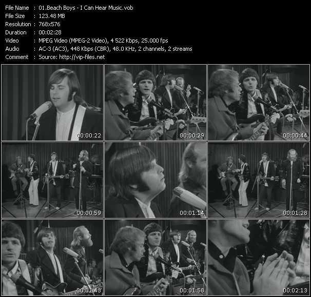 Beach Boys - I Can Hear Music