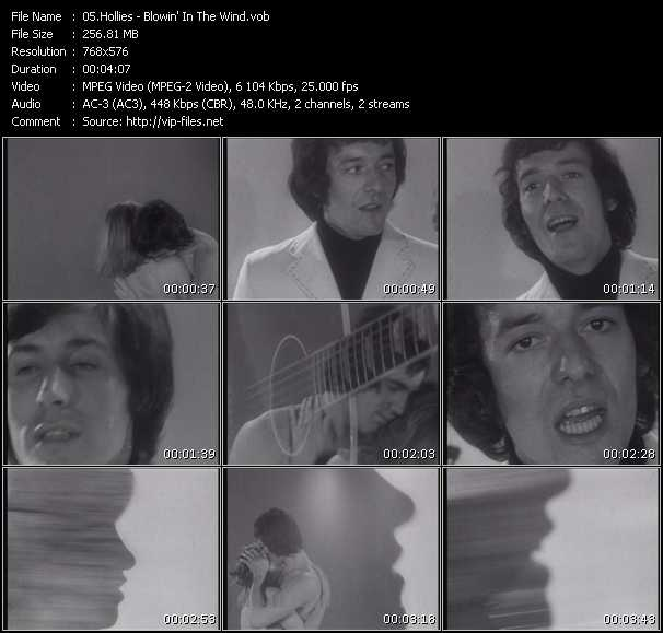 Hollies - Blowin' In The Wind