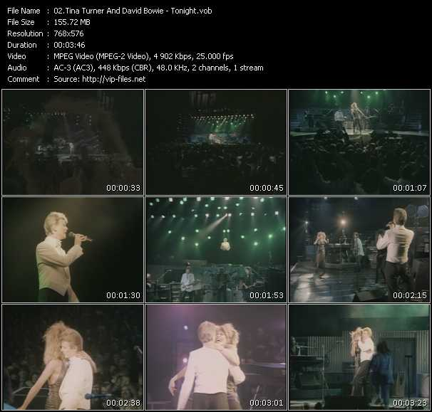 Tina Turner And David Bowie - Tonight