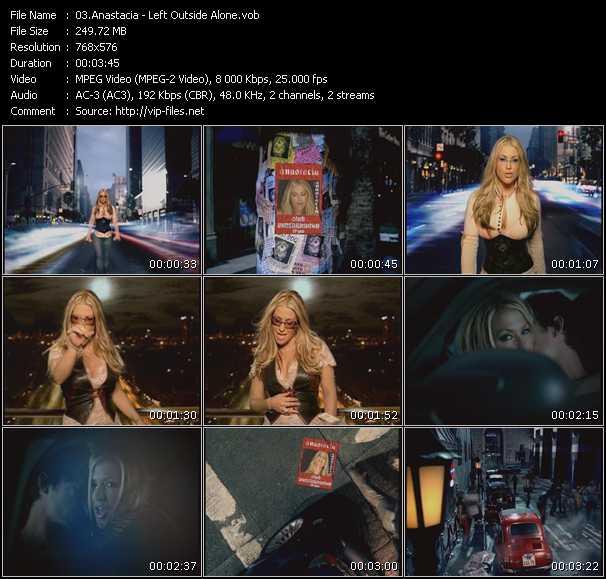 Anastacia - Left Outside Alone