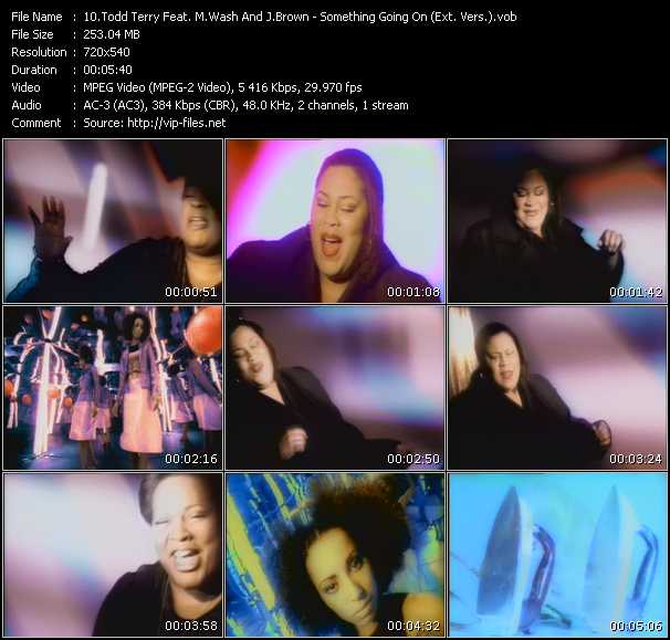 Todd Terry Pres. Martha Wash And Jocelyn Brown - Something Goin' On (Extended Version)