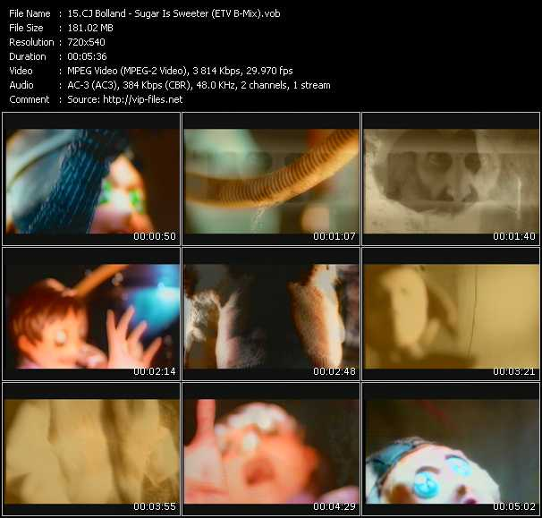 Cj Bolland - Sugar Is Sweeter (ETV Bonus Mix)