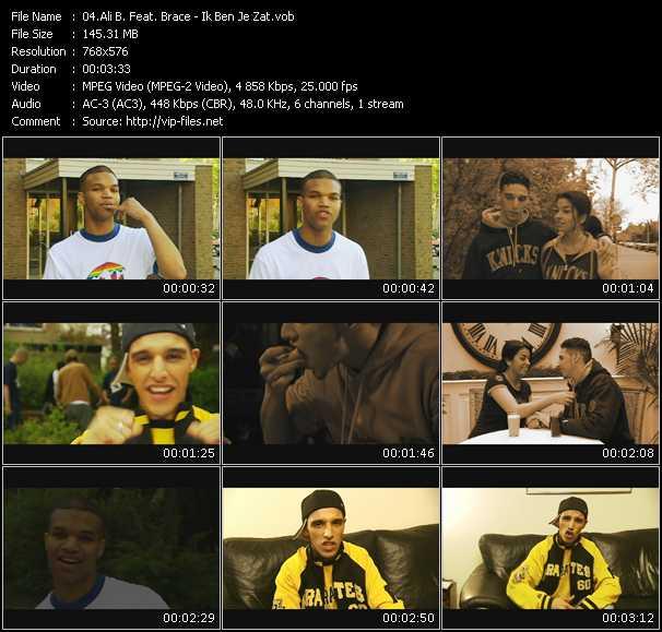Ali B Feat. Brace - Ik Ben Je Zat
