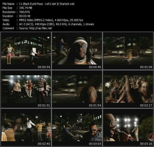 Black Eyed Peas - Let's Get It Started