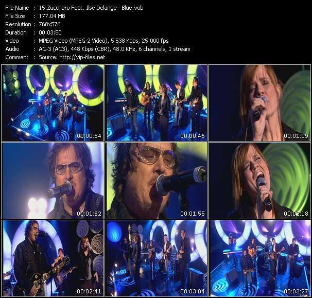 Zucchero Feat. Ilse DeLange - Blue