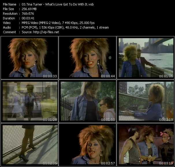 Tina Turner - What's Love Got To Do With It?