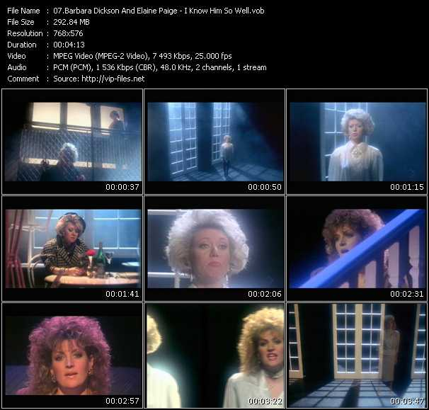 Barbara Dickson And Elaine Paige - I Know Him So Well