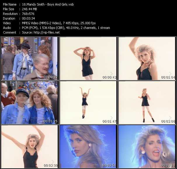 Mandy (Mandy Smith) - Boys And Girls