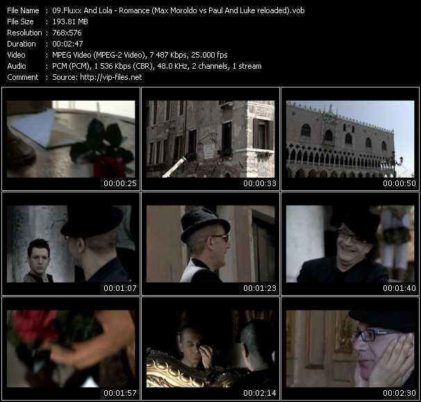 Fluxx And Lola - Romance (Max Moroldo Vs. Paul And Luke Reloaded)