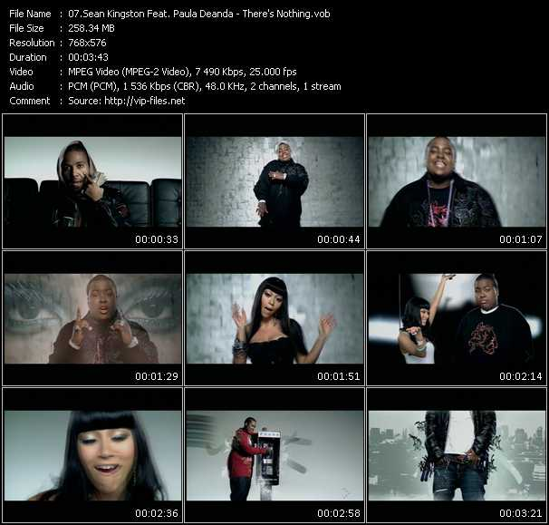 Sean Kingston Feat. Paula Deanda - There's Nothing