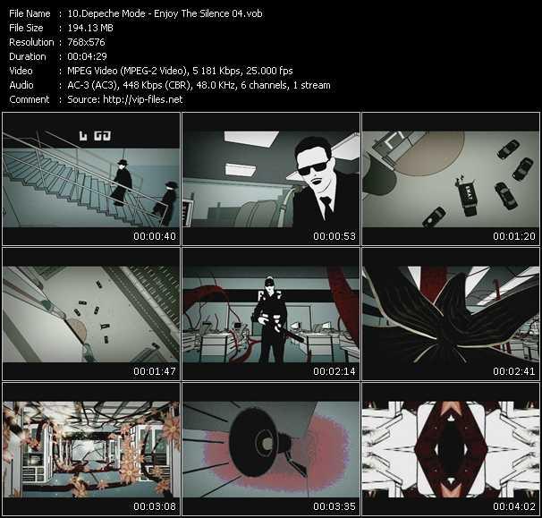 Depeche Mode - Enjoy The Silence 04