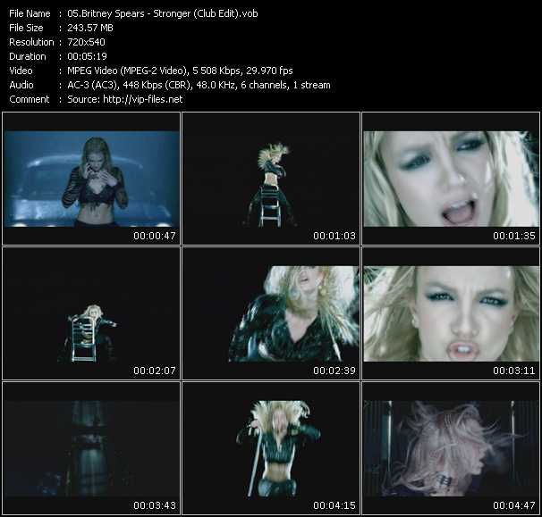 Britney Spears - Stronger (Club Edit)
