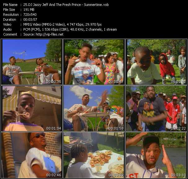 Dj Jazzy Jeff And The Fresh Prince - Summertime
