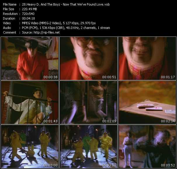 Heavy D And The Boyz - Now That We've Found Love