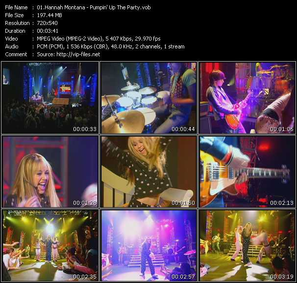 Hannah Montana - Pumpin' Up The Party