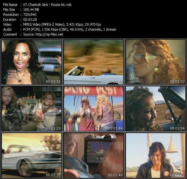 Cheetah Girls - Route 66