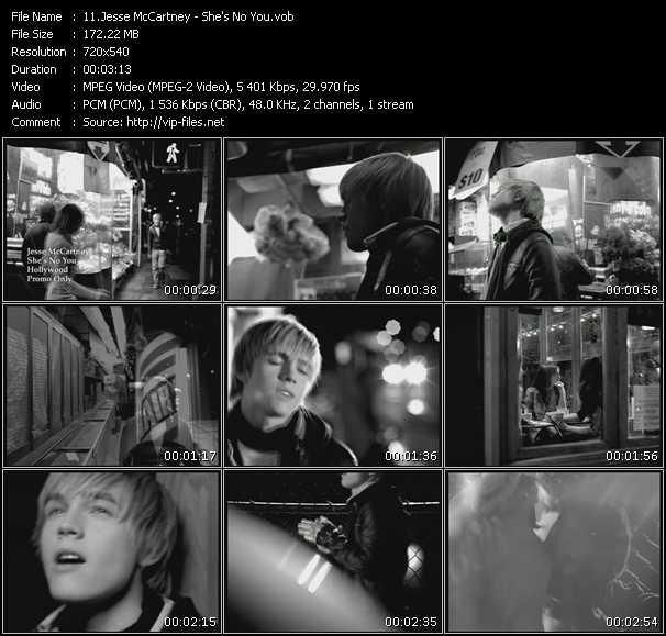 Jesse McCartney - She's No You