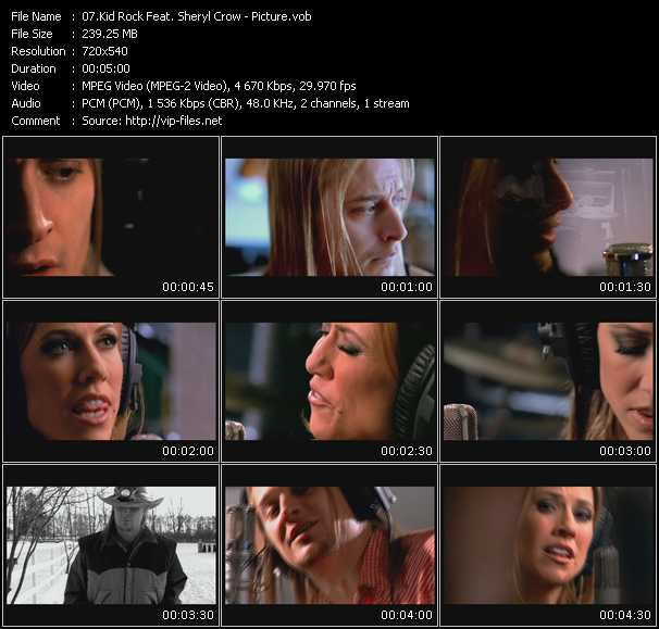 Kid Rock Feat. Sheryl Crow - Picture