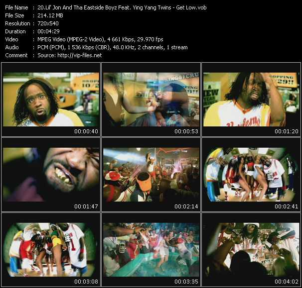 Lil' Jon And The East Side Boyz Feat. Ying Yang Twins - Get Low