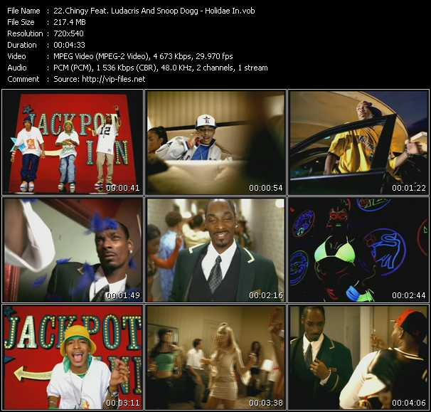 Chingy Feat. Ludacris And Snoop Dogg - Holidae In