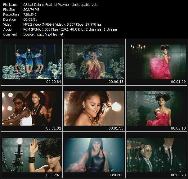 Kat DeLuna Feat. Lil' Wayne - Unstoppable