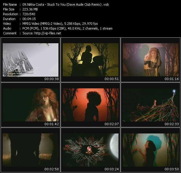 Nikka Costa - Stuck To You (Dave Aude Club Remix)