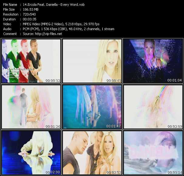 Ercola Feat. Daniella - Every Word