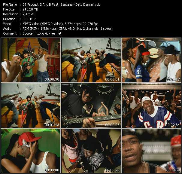 Product G And B Feat. Santana - Dirty Dancin'