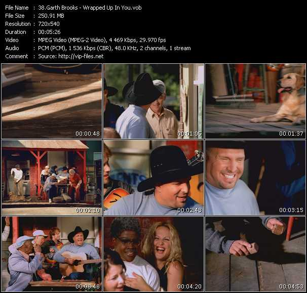 Garth Brooks - Wrapped Up In You