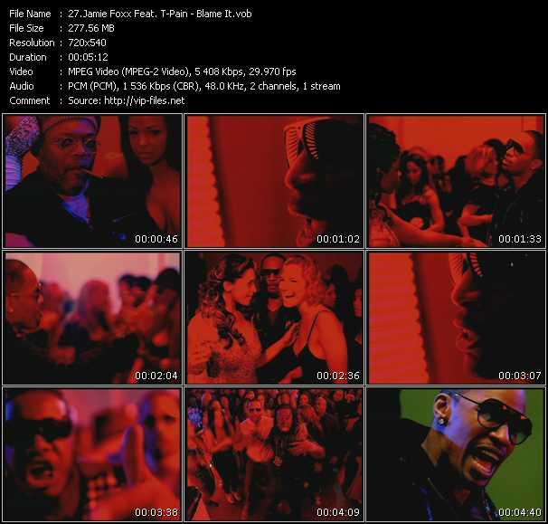 Jamie Foxx Feat. T-Pain - Blame It