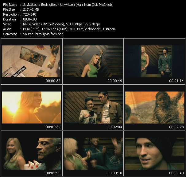 Natasha Bedingfield - Unwritten (Hani Num Club Mix)