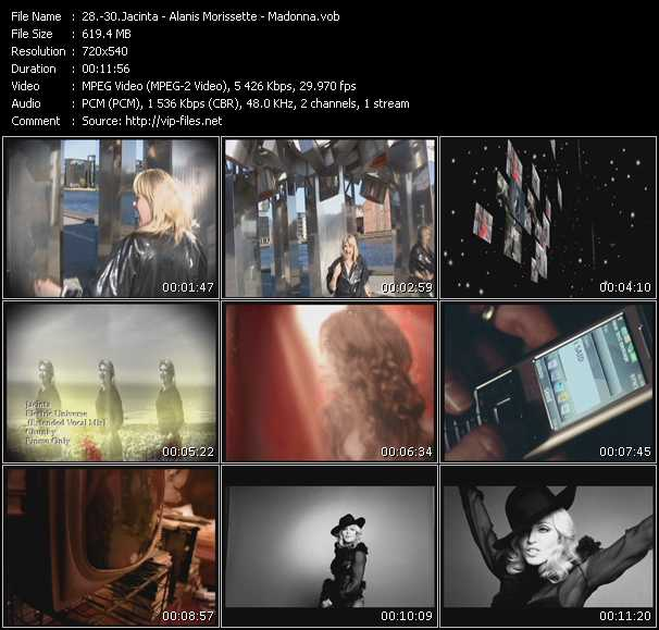 Jacinta - Alanis Morissette - Madonna - Electric Universe (Extended Vocal Mix) - Underneath (Josh Harris Club Mix) - Give It 2 Me
