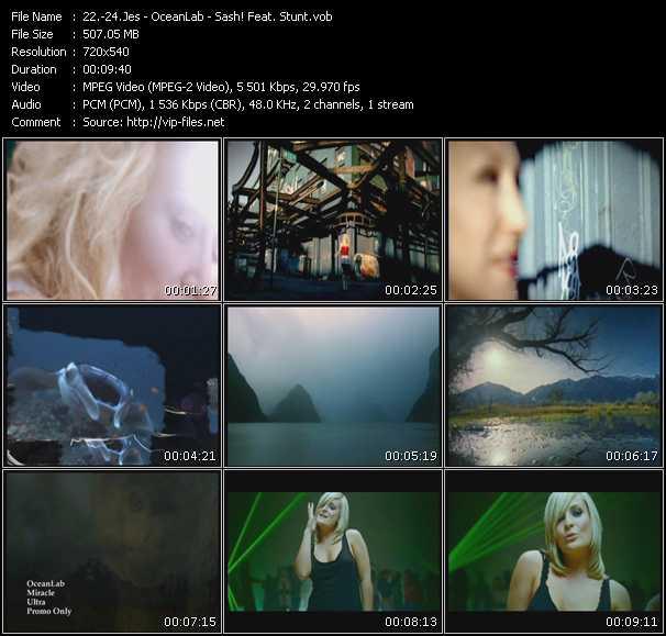 Jes - OceanLab - Sash! Feat. Stunt - Heaven - Miracle - Raindrops (Encore Une Fois)