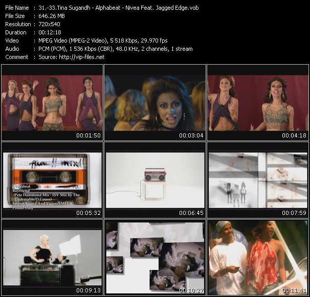Tina Sugandh - Alphabeat - Nivea Feat. Jagged Edge - Break Me - Boyfriend (Pete Hammond Mix) (ISV Mix by The Undeniable-D.Gauss) - Don't Mess With My Man (Al B. Rich Radio Edit)