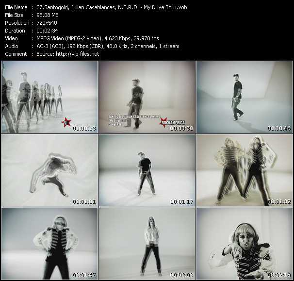 Santigold (Santogold), Julian Casablancas, N.E.R.D. - My Drive Thru