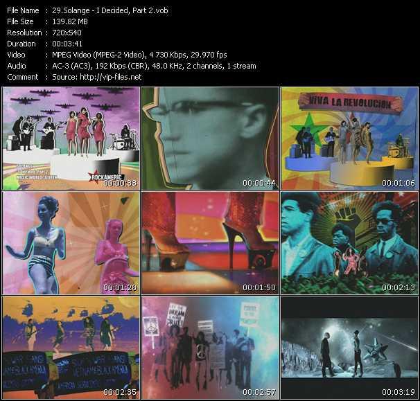 Solange - I Decided, Part 2