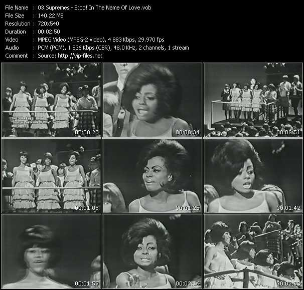 Supremes - Stop! In The Name Of Love