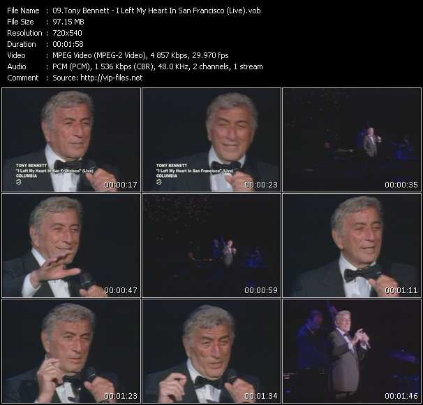 Tony Bennett - I Left My Heart In San Francisco (Live)
